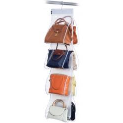 Domopak - závěsný organizér na kabelky s 8 kapsami
