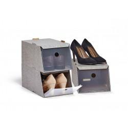 Domopak - sada 3 ks úložných boxů na boty