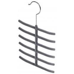 Domopak - sada 2 ks ramínek na kravaty - šedá