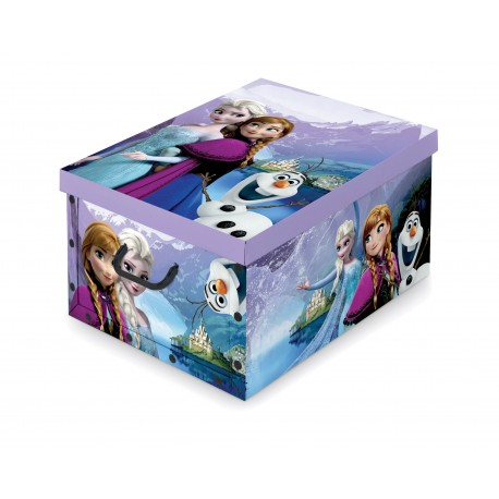 f04791f26 Dk Living Box with handles - Disney - Frozen - Savitar Brands