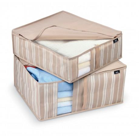 Stripes - set 2 ks úložných boxů