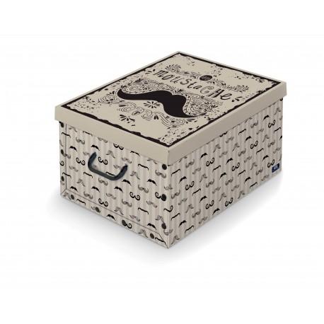 05b56de2c Dk Living Box with handles - Black - Savitar Brands
