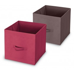 Úložný box - burgundy