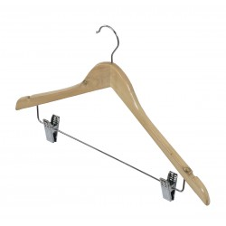 Dk Living Hanger with clips - Natural wood