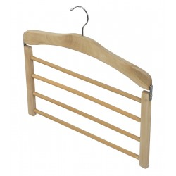 Dk Living 4 bars pants hanger - Natural wood
